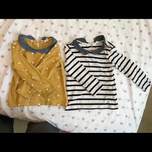 Gap long sleeve shirts